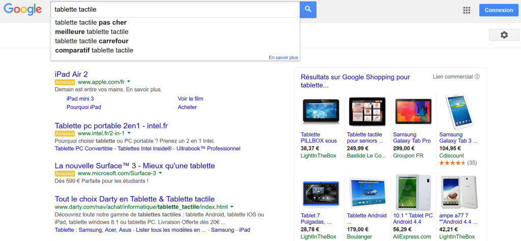 Example-Google-search